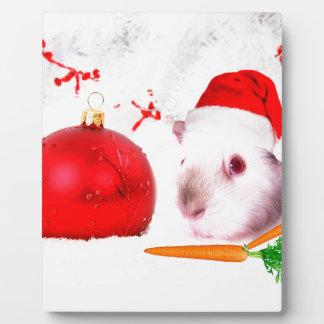 Guinea Pig Christmas Plaque