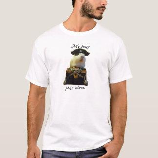 Guinea Pig Funny Pirate T-Shirt