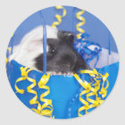 Guinea Pig in Party Bag Stickers