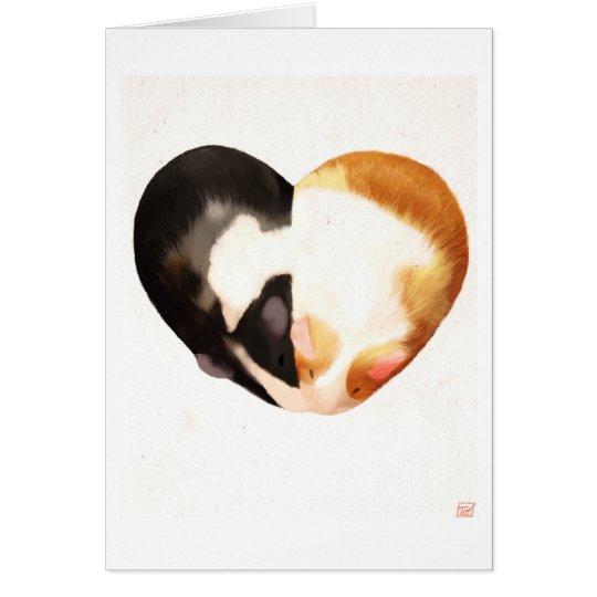 Guinea Pig Love Card