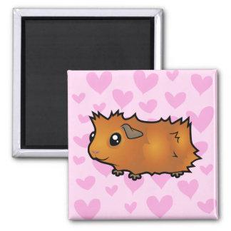 Guinea Pig Love (scruffy) Magnet