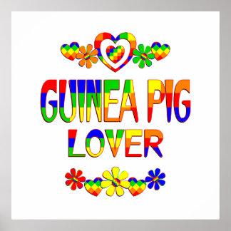 Guinea Pig Lover Poster