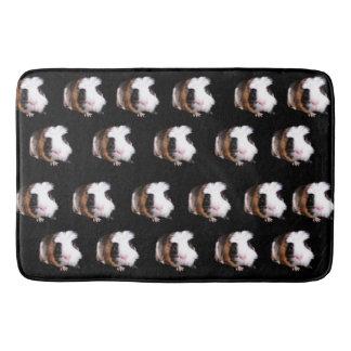 Guinea_Pig_Pattern_Memory_Foam_Bath_Mat. Bathroom Mat