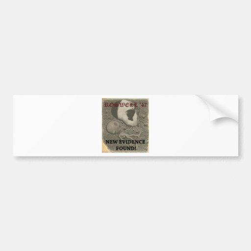 Guinea Pig Roswell Alien Bumper Stickers