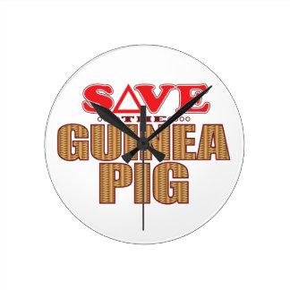 Guinea Pig Save Clock