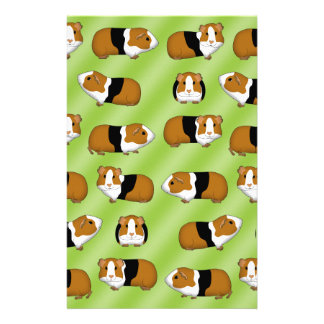 Guinea pig selection stationery