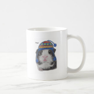 GUINEA PIG SHERPA HAT COFFEE MUG