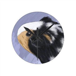 Guinea pig wallclock