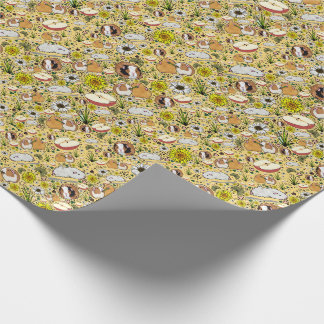 Guinea Pigs in Yellow Wrapping Paper