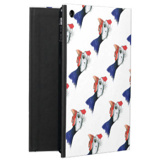 Guinea Santa Claus iPad Air Cases