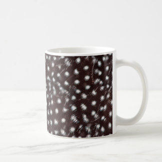 Guineafowl Spotted Feather Abstract Coffee Mug