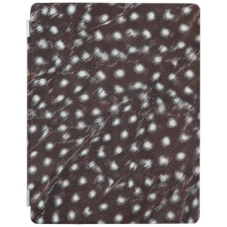 Guineafowl Spotted Feather Abstract iPad Cover