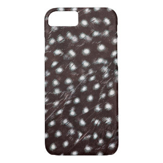 Guineafowl Spotted Feather Abstract iPhone 8/7 Case