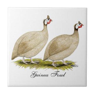 Guineas Buff Dundotte Fowl Tile