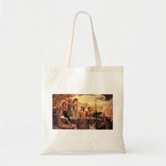 Guinevere in Camelot Budget Tote Bag