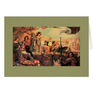 Guinevere in Camelot Greeting Card