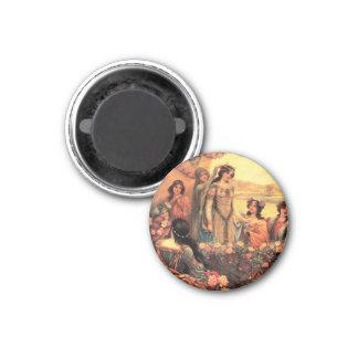 Guinevere in Camelot Fridge Magnet