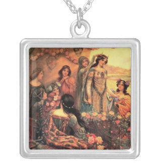 Guinevere in Camelot Pendant
