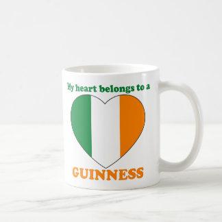 Guinness Classic White Coffee Mug