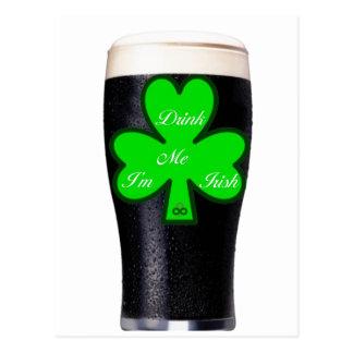 Guinness Pint postcard