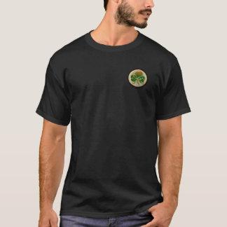 Guirlande de crâne de shamrock t-shirt