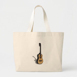 Guitar081210 Large Tote Bag