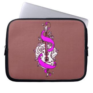 Guitar 2 laptop sleeve