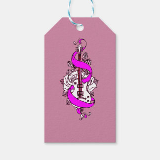 Guitar 2 pack of gift tags