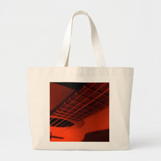 Guitar abstract. large tote bag