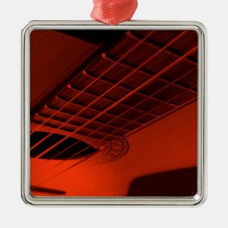 Guitar abstract. metal ornament