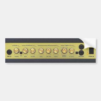 Guitar Amp Bumper Sticker