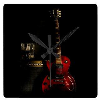 Guitar And Amp Clock