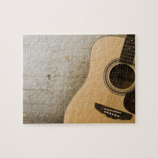 Guitar and Bricks Jigsaw Puzzle
