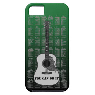 Guitar and chord 06 iPhone 5 case