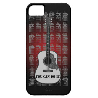 Guitar and chord 06 iPhone 5 cover