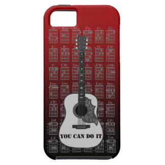 Guitar and chord 06 iPhone 5 cases