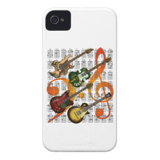 Guitar and Chord 07 iPhone 4 Covers