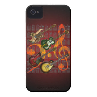 Guitar and Chord 07 Case-Mate iPhone 4 Cases
