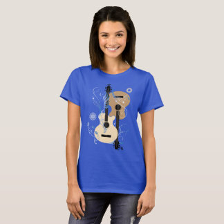 Guitar and Music Abstract T-Shirt