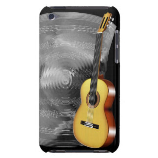 Guitar and Music Sheet Barely There iPod Cases