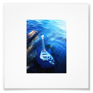 Guitar Art By JokeApp Tv tm Photographic Print