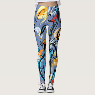 GUITAR ART LEGGINGS
