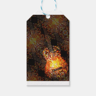 Guitar Art Pack Of Gift Tags