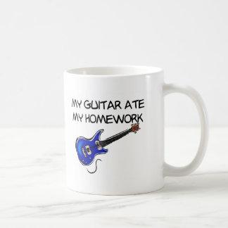 Guitar Ate My Homework Mug