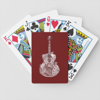 Guitar Bicycle Playing Cards