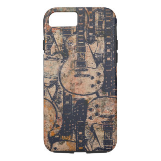 Guitar Black Collage Grunge iPhone 8/7 Case