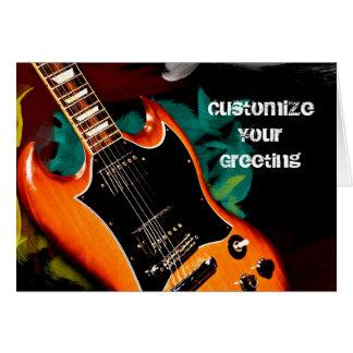 Guitar Colors Card