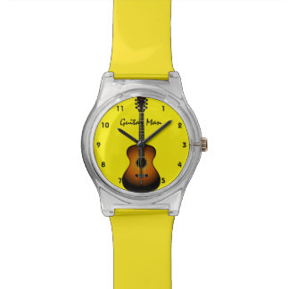 Guitar Design Wristwatch