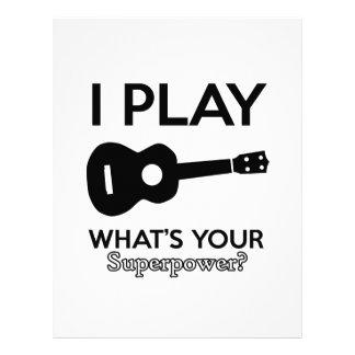 guitar designs letterhead