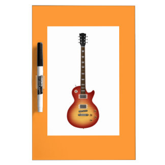 Guitar Dry Erase Board